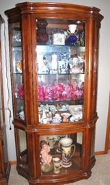 Display case full! Royal Doulton and more