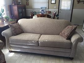 Neutral colored couch in perfect condition!