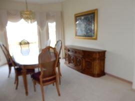 Bernhardt Dining Suite.