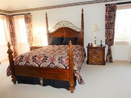 Beautifully appointed  Queen sized Master Bedroom Suite by Stanley Furniture Company