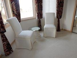 Pair of Slipper Chairs