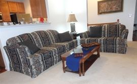 Living room set - excellent condition.