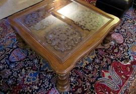 Coffee table - matches the 2 side tables