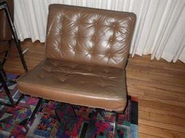 Knoll Barcelona chair mid century modern