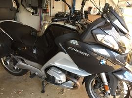 2011 BMW R 1200 RT, only 21,800 miles