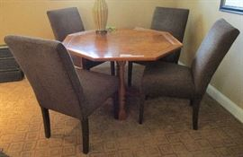 Ethan Allen chairs.  Table priced separately.