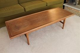 Vintage mid century modern Drexel Declaration coffee table, as-is