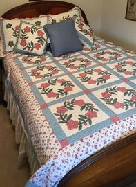 Antique Bed & Quilts