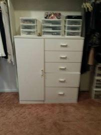 White dresser $125.00
