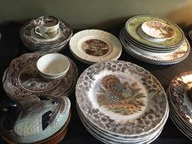 Transferware Plates