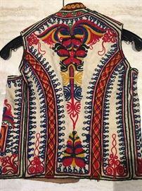 Old colorful vest