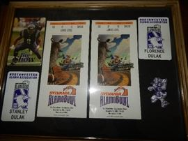 Northwestern football collectibles
