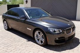 2014 BMW 750Li xdrive M-Sport Twin Turbo - 28,700 miles. Superb Condition!!