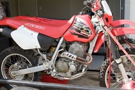 Honda 2000 XR400RY Motorcycle