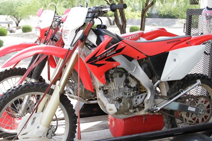 Honda 2006 CRF 250 Motorcycle