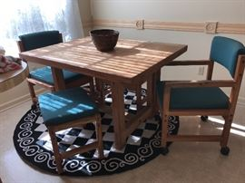 5pc Pine Kitchenette Set
