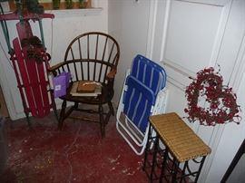 Sled & Chair