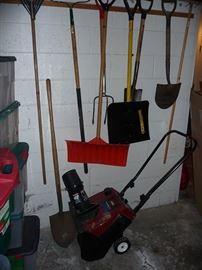 Yard Tools & Snow Blower