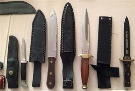 Collection of Knives
