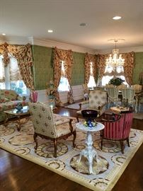 Custom Furnishings by Greenbaum Interiors