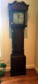 Circa 1770 Tall English Clock