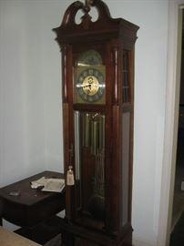 Ridgeway grandfather clock.