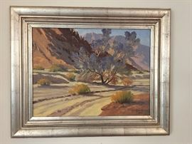 Oil Painting Signed by Don Miles.