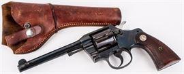 Lot 343 - Gun Colt Official Police 38spl DA Revolver