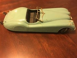 Vintage BLUE Toy Car!