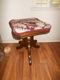 Eastlake piano stool