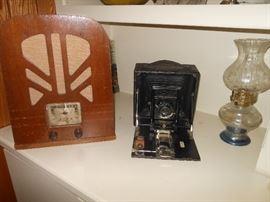 Old radio & camera