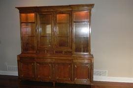 Custom built china cabinet. Originally $8500.00
