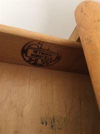 Heywood wakefield Wooden Desk
