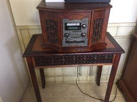Record/cd/ radio