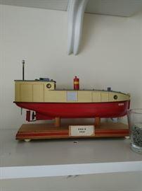 Wood vintage Model ships