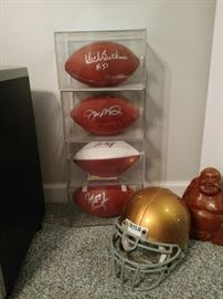 Huge amount of sports memorabilia autographed and authentic