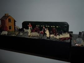 Trains and miniatures