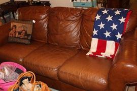 furniture brown sofa