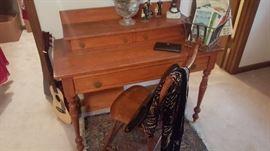 Craftsman Style Desk w/ Chair