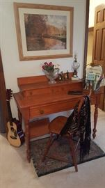Craftsman Style Desk w/ Chair