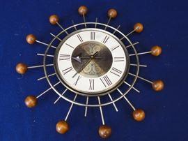 "60's Retro ""Atomic Seth"" Thomas Clock"