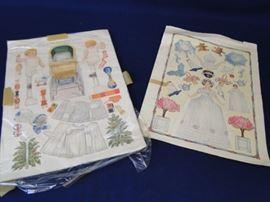 Antique Magazine Paper Dolls