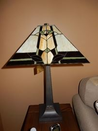 one of many tiffany style lamps we have for sale