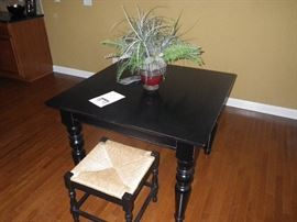 counter hight table two stools