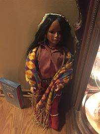 Indian doll approximately 2 feet tall $50  *BUY IT NOW*