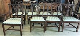 Set of Chippendale Chairs
