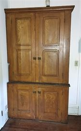 Pennsylvania Grain Painted Cabinet