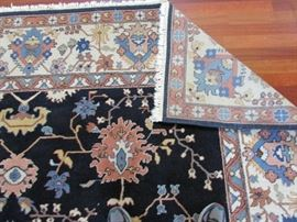 Large beautiful well cared for rug.