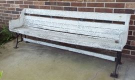 One of two benches