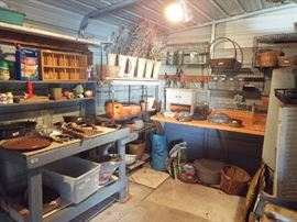 A full potting shed (shed not included)